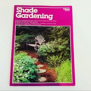 VTG 80S GARDENING ALL ABOUT SHADE ADVICE BOOK